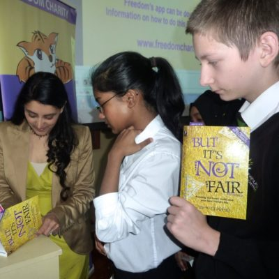 But its Not Fair book signing by Aneeta Prem